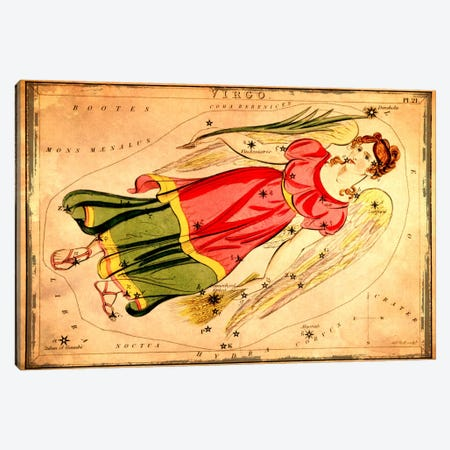 Virgo1825 Canvas Print #ICA1077} by Sidney Hall Art Print