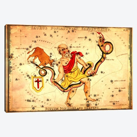 Ophiuchus1825 Canvas Print #ICA1078} by Sidney Hall Canvas Wall Art
