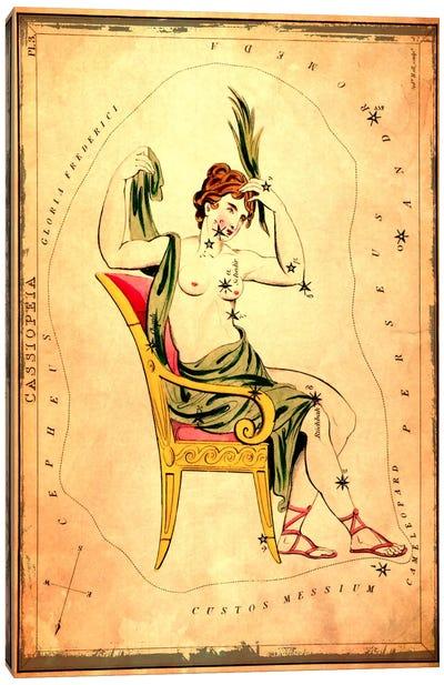 Cassiopeia 1825 Canvas Art Print