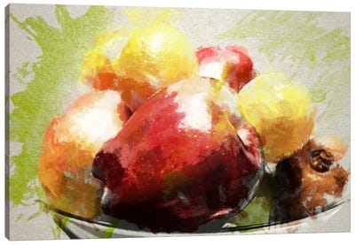 Watercolor Still Life Canvas Art Print