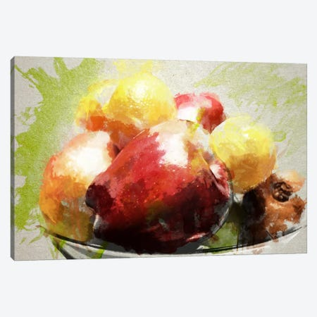 Watercolor Still Life Canvas Print #ICA107} by Unknown Artist Canvas Wall Art