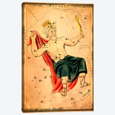 Cepheus Canvas Print #ICA1083} by Sidney Hall Canvas Print