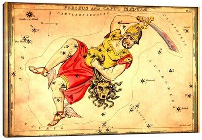 Perseus & Caput Medusae Canvas Art Print