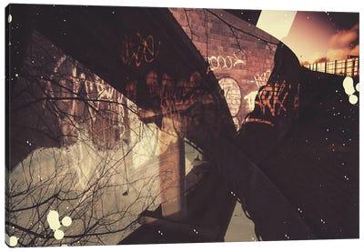 Graffiti Inversion Canvas Art Print