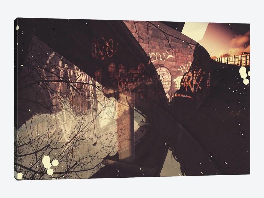 Graffiti Inversion by Unknown Artist 1-piece Canvas Art Print
