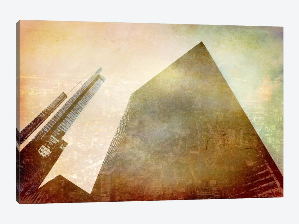 City in the Sky by Unknown Artist 1-piece Art Print