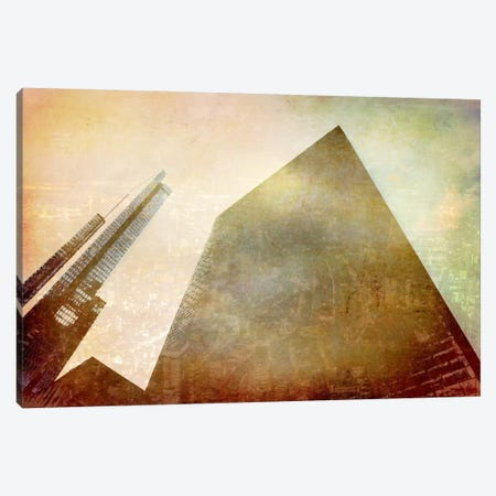 City in the Sky Canvas Print #ICA1095} by Unknown Artist Art Print