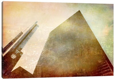 City in the Sky Canvas Art Print