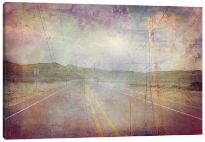 Life is a Highway Canvas Art Print