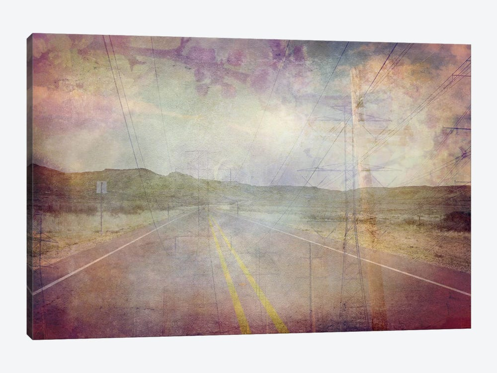 Life is a Highway by iCanvas 1-piece Canvas Artwork