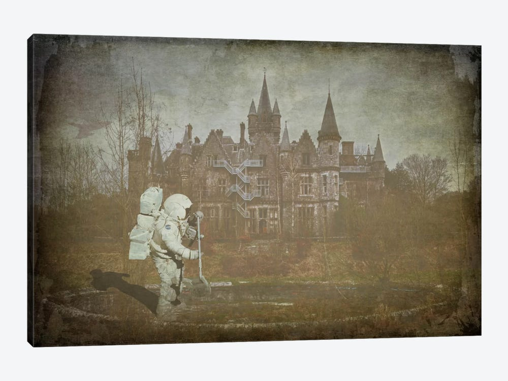 Bourgeois Wasteland by Unknown Artist 1-piece Canvas Print