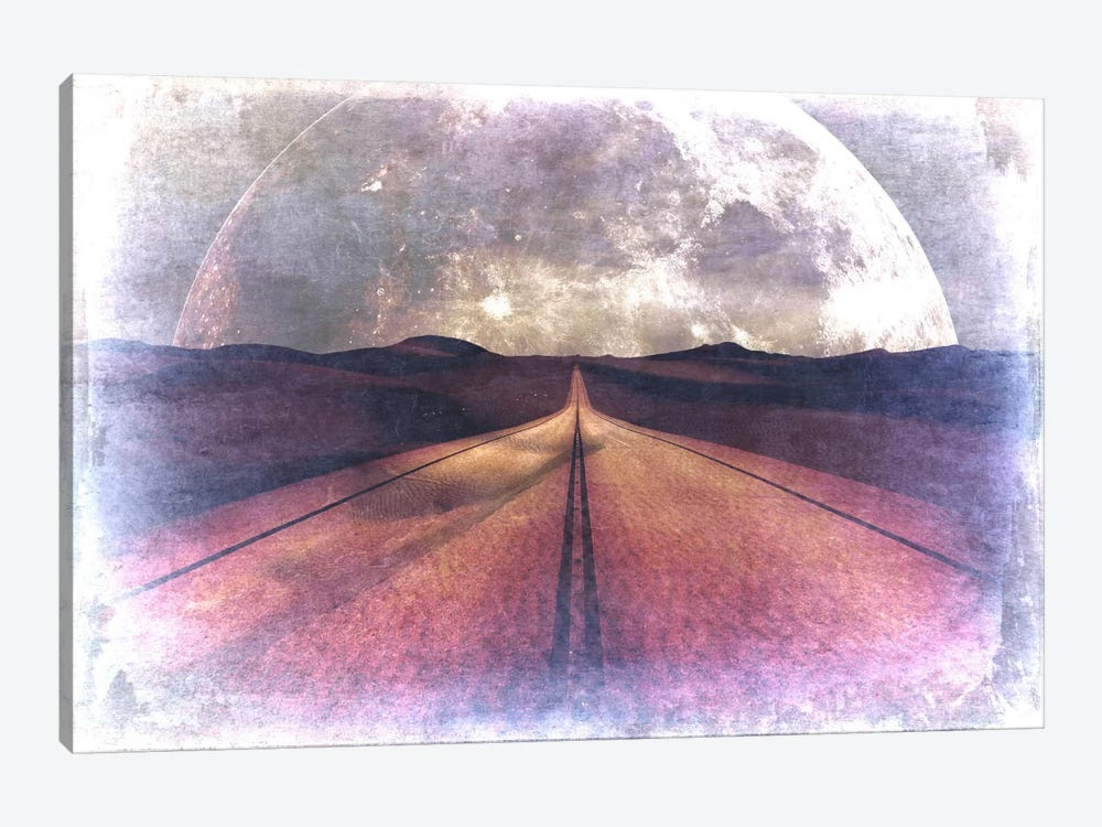 To the Moon, Lucy by Unknown Artist 1-piece Canvas Wall Art