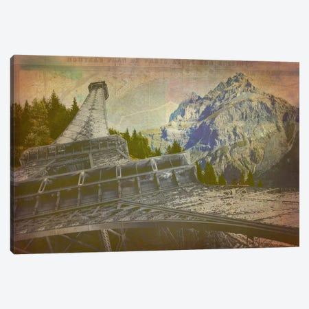 C'est La View Canvas Print #ICA1105} by Unknown Artist Art Print