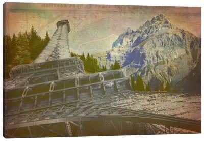 C'est La View Canvas Art Print