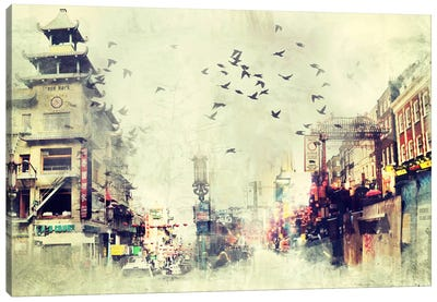China Flock Canvas Print #ICA1106