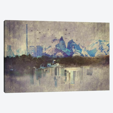 Rural Urbanization Canvas Print #ICA1109} by Unknown Artist Canvas Wall Art