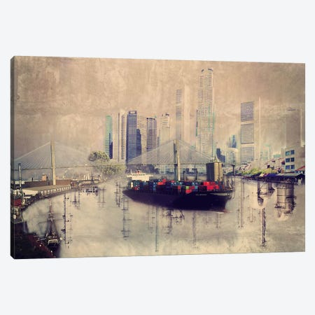 Urban Cargo Canvas Print #ICA1110} by Unknown Artist Canvas Art Print
