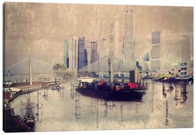 Urban Cargo Canvas Art Print