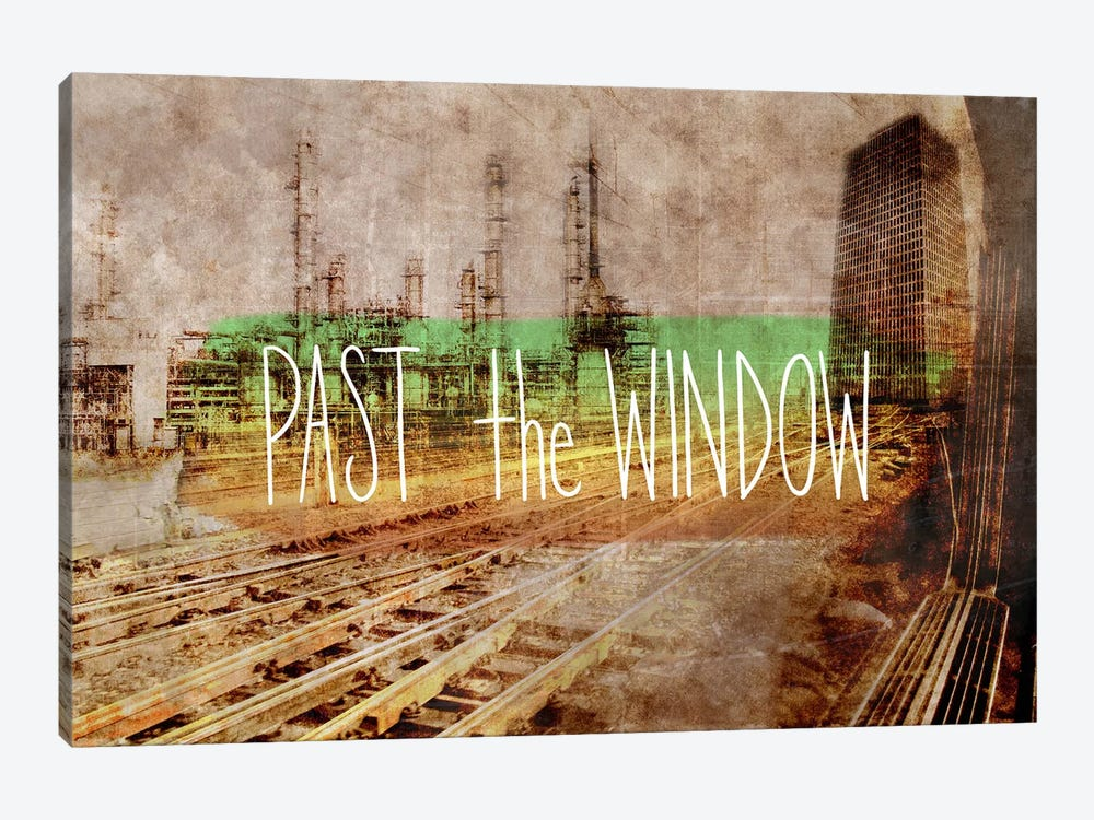 Past the Window by iCanvas 1-piece Art Print