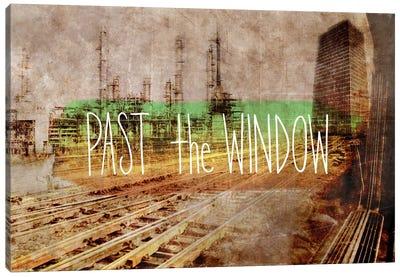 Past the Window Canvas Art Print