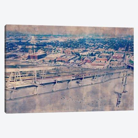 Platform Horizon Canvas Print #ICA1118} by Unknown Artist Canvas Art Print