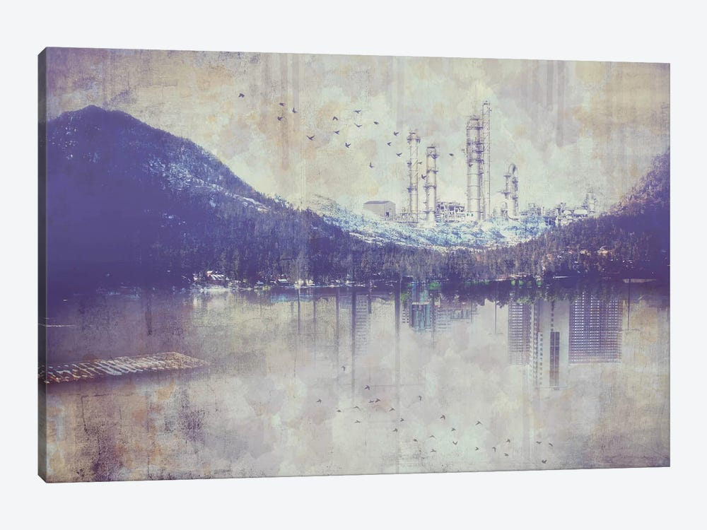 View from the Lake by iCanvas 1-piece Canvas Wall Art