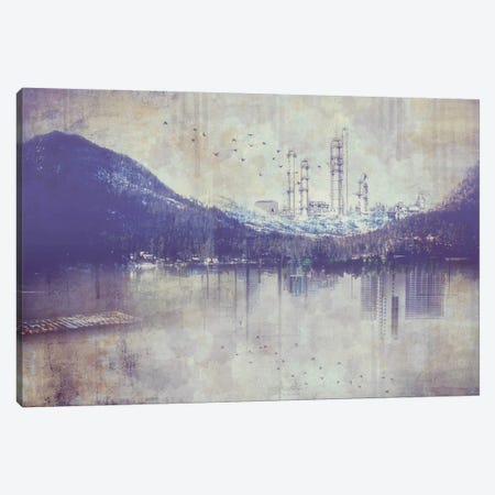 View from the Lake Canvas Print #ICA1120} by Unknown Artist Canvas Wall Art