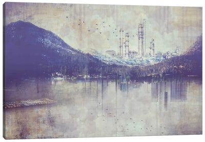 View from the Lake Canvas Art Print