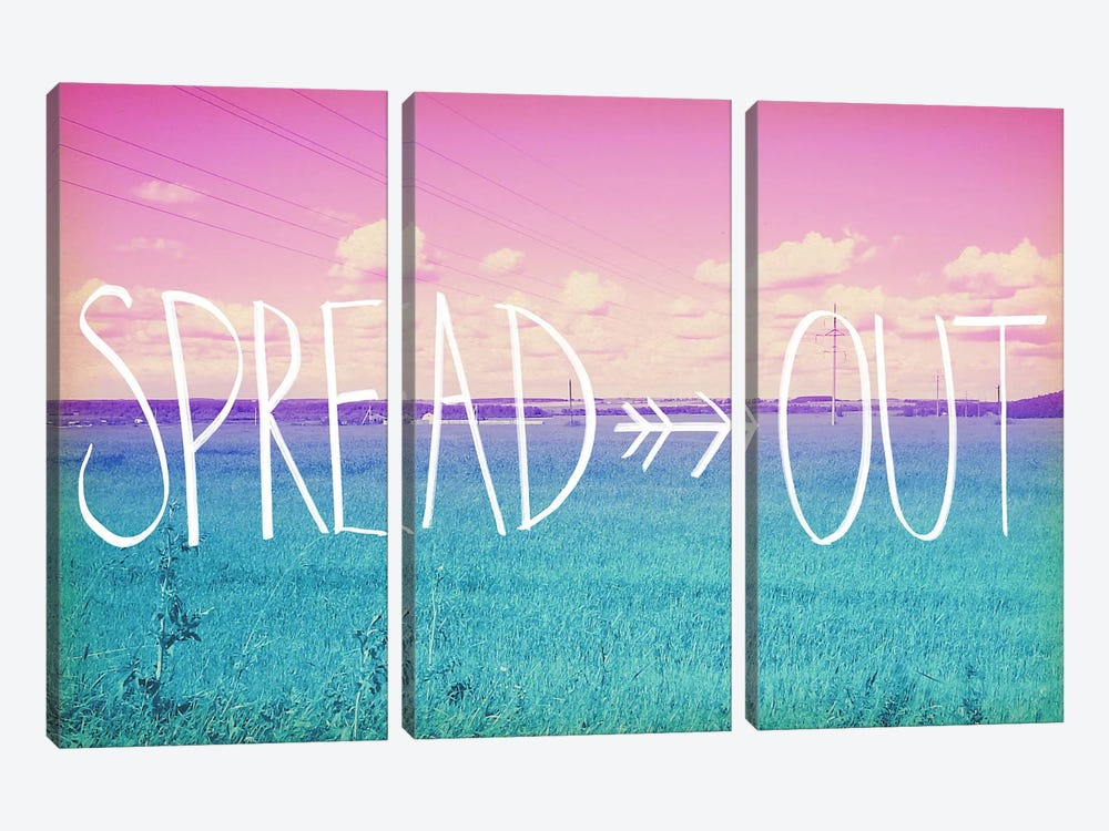 Spread Out 2 by iCanvas 3-piece Canvas Print
