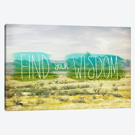 Find Your Wisdom Canvas Print #ICA1124} by Unknown Artist Canvas Print