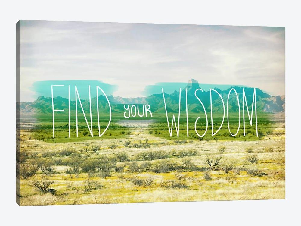 Find Your Wisdom by Unknown Artist 1-piece Canvas Wall Art