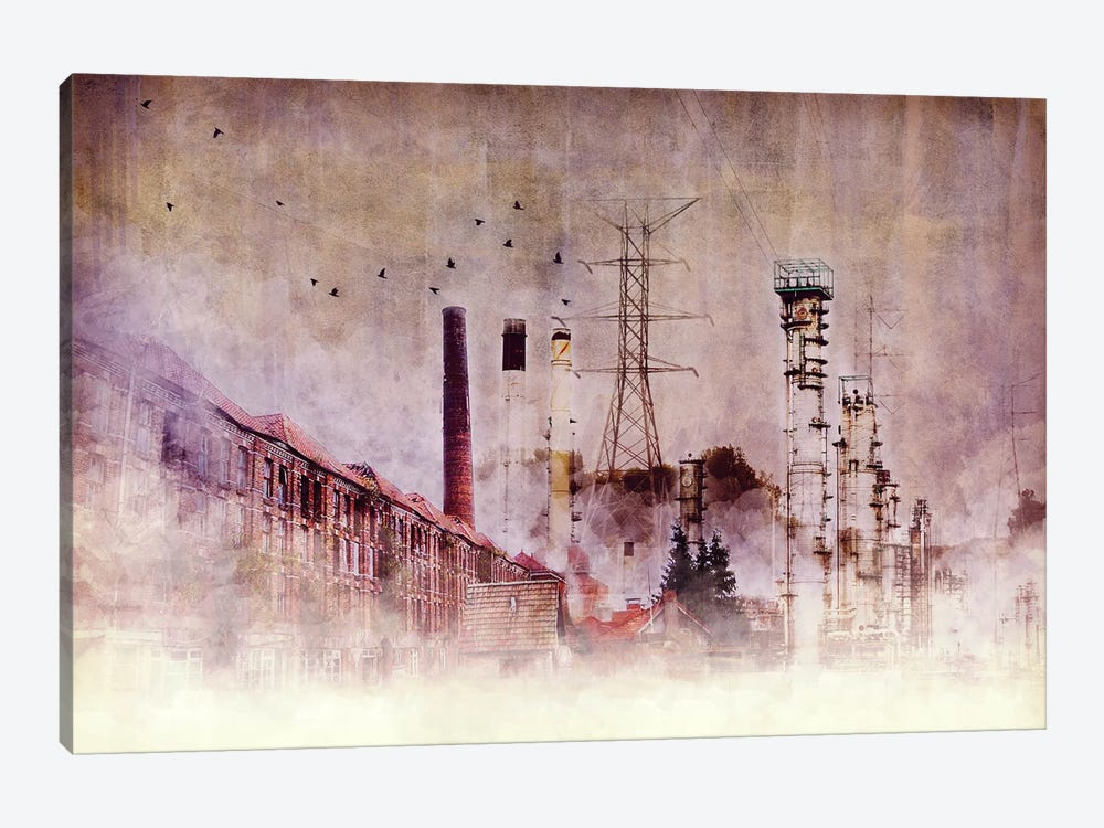 Backbone of Industry by Unknown Artist 1-piece Canvas Wall Art