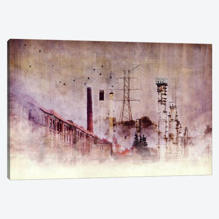 Backbone of Industry Canvas Print #ICA1126} by Unknown Artist Art Print