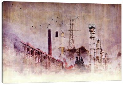 Backbone of Industry Canvas Art Print