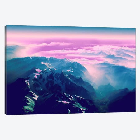 Candy Mountain Canvas Print #ICA1130} by 5by5collective Canvas Art Print