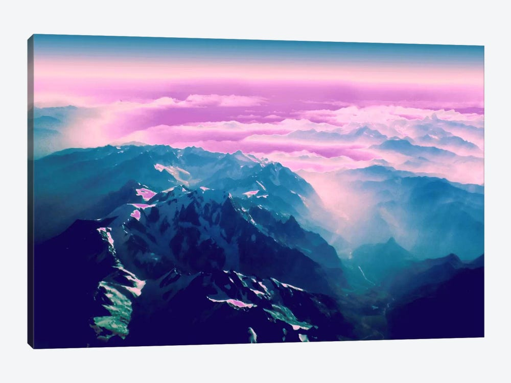 Candy Mountain by 5by5collective 1-piece Canvas Print