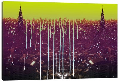 City Drips Canvas Print #ICA1132