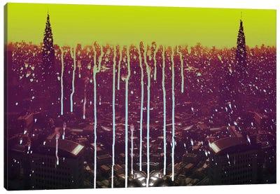 City Drips Canvas Art Print