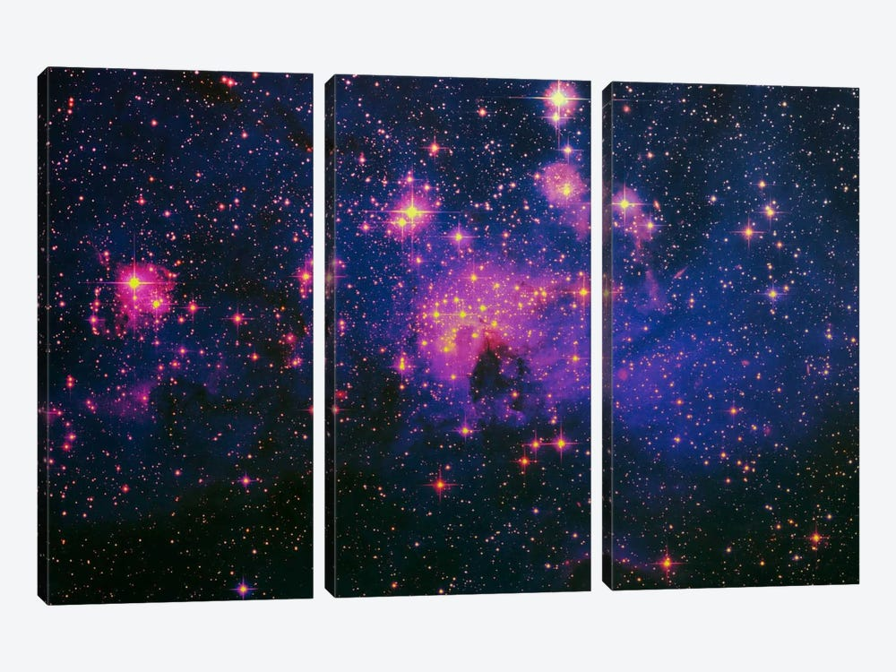 Cosmos by 5by5collective 3-piece Canvas Artwork