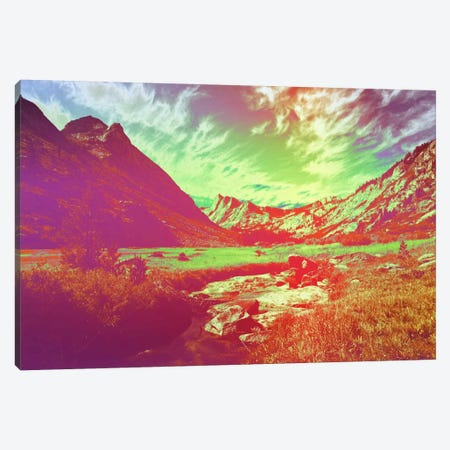 Hyper Paradise Canvas Print #ICA1134} by 5by5collective Canvas Wall Art