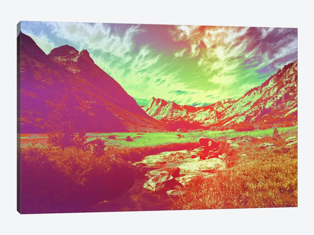 Hyper Paradise by 5by5collective 1-piece Art Print