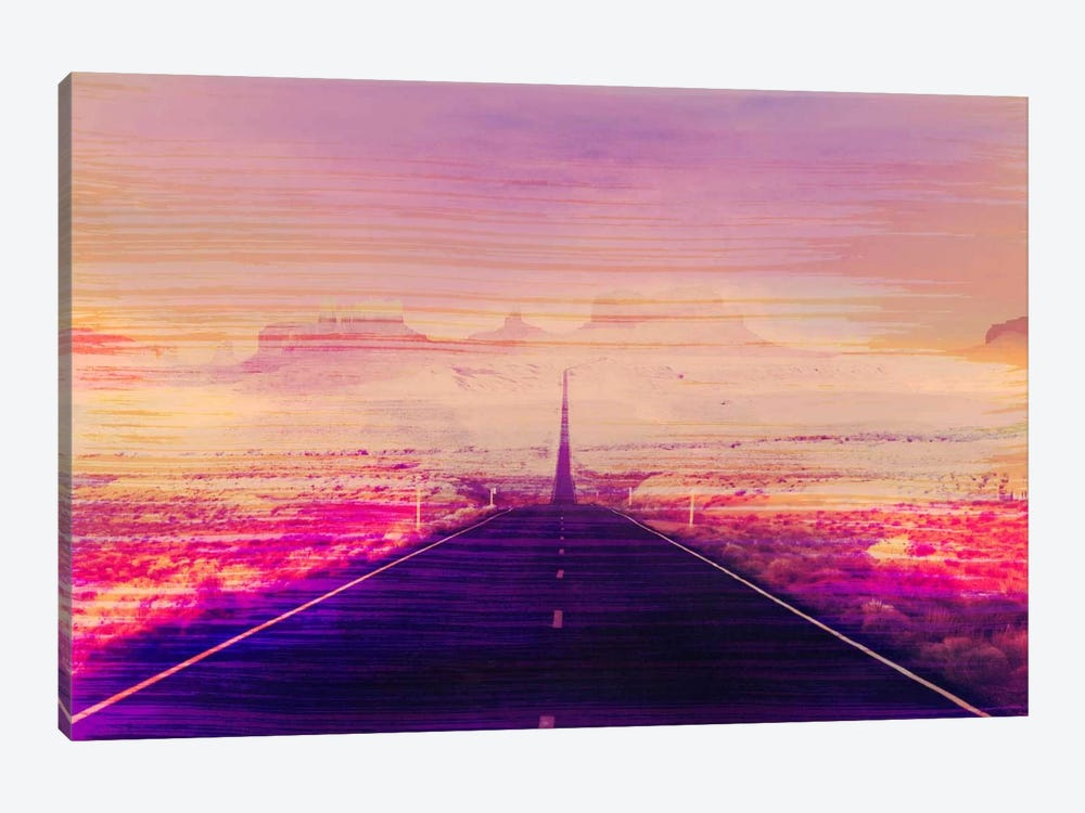 Radiation Road by 5by5collective 1-piece Canvas Art Print