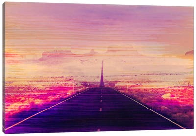 Radiation Road Canvas Art Print