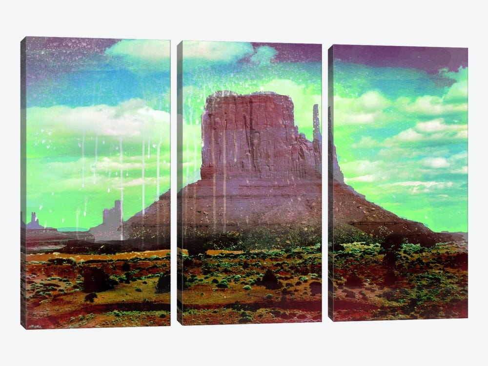 Radiation Valley by 5by5collective 3-piece Canvas Artwork