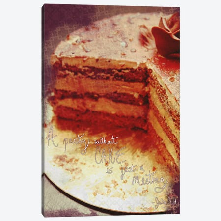 Cake Meetings Canvas Print #ICA113} by Unknown Artist Canvas Wall Art