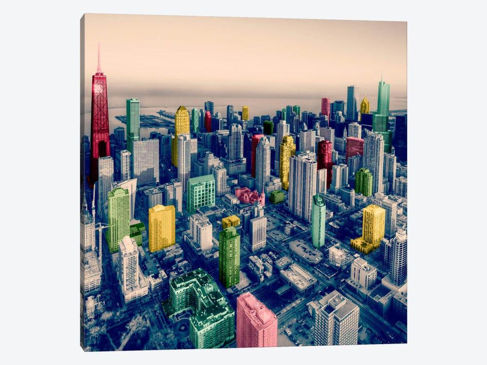 Chicago City Pop 2 by Unknown Artist 1-piece Art Print