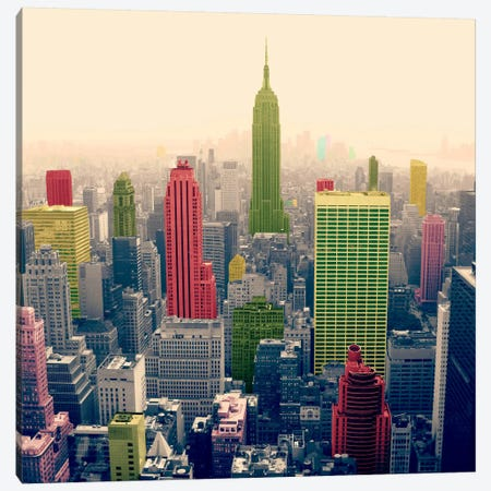 New York City Pop 2 Canvas Print #ICA1147} by iCanvas Canvas Art Print