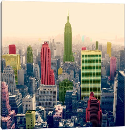 New York City Pop 2 Canvas Art Print