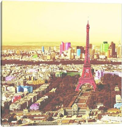 Paris in Color 2 Canvas Art Print