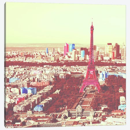 Paris in Color 3 Canvas Print #ICA1154} by Unknown Artist Canvas Art
